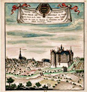 Château et ville de Brissac
