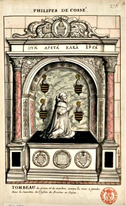Tombeau sacristie