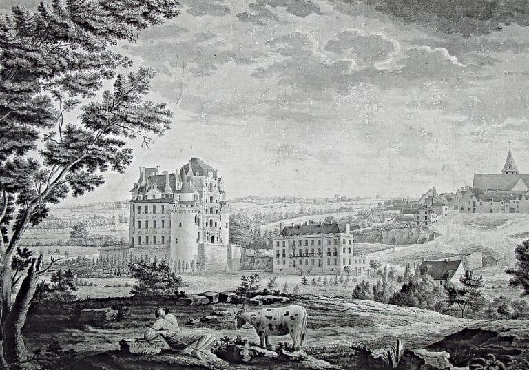 Vue de Brissac, Victorine Versillé.
