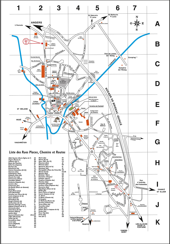 Plan actuel Brissac-Quincé
