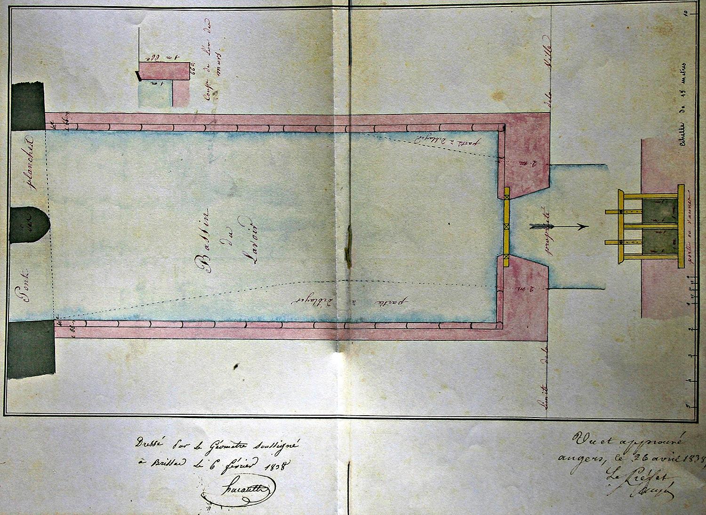 Plan Brissac Lavoir