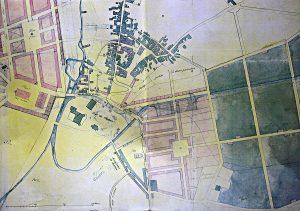 Plan de Brissac-Quincé - projet d'aménagement