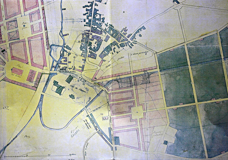 Plan de Brissac et Quincé – projet d'aménagement