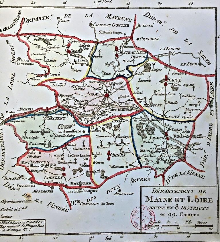 Plan carte département