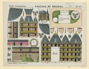Plan d'Epinal - maison Pélerin