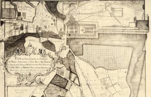 Plan des villes, château et environs