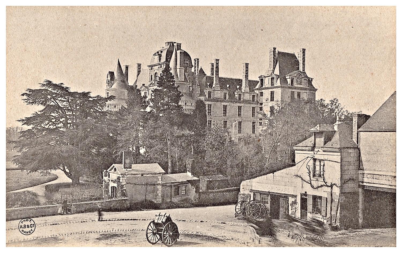 Brissac, le château