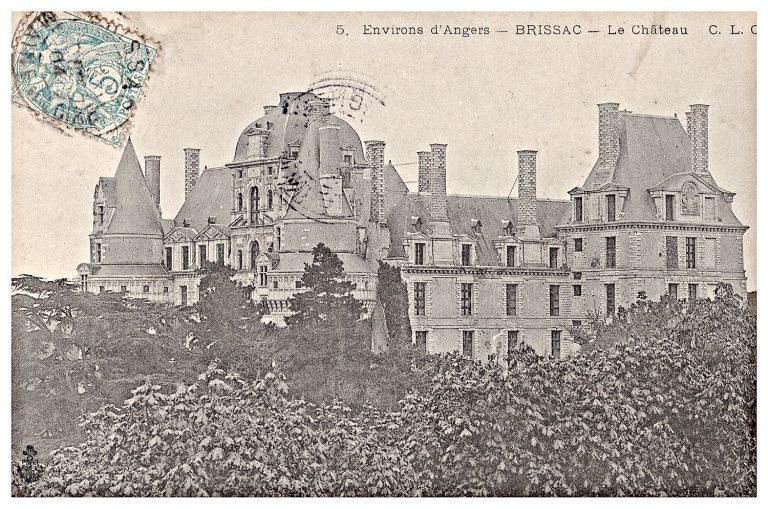 Carte postale château de Brissac