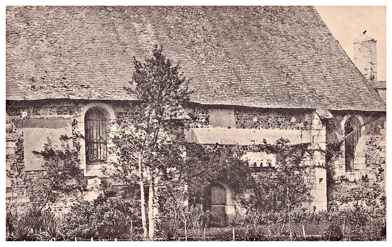 Quincé, vieille église