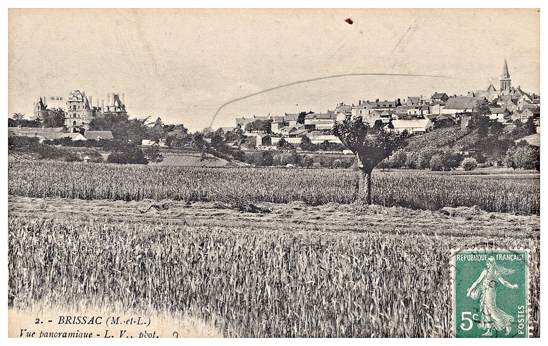 Brissac, vue panoramique