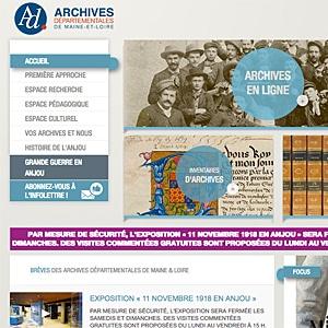 Archives départementales de Maine-et-Loire