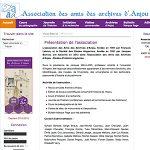 Association des Amis des Archives d'Anjou (Les 4A)